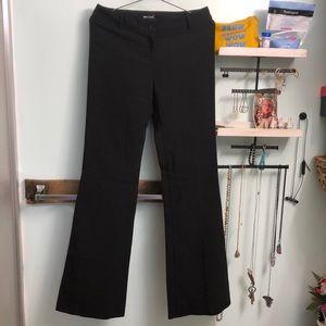 Black Flare dress pants, slacks, pantsuit